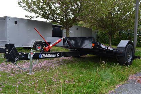 2020 Diamond C 12x77 DSA Equipment Trailer 7K in Harrisburg, Pennsylvania - Photo 9