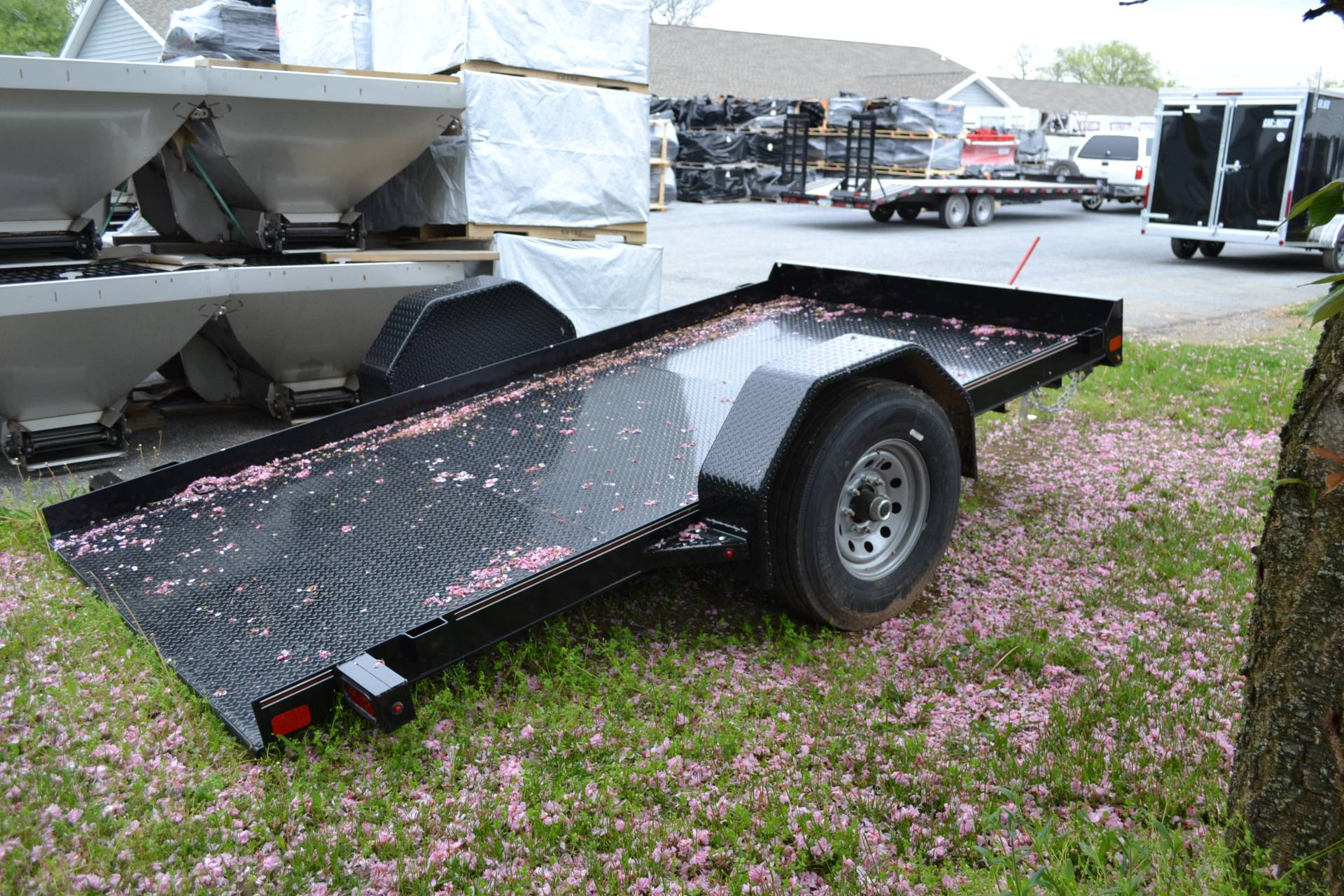 2020 Diamond C 12x77 DSA Equipment Trailer 7K in Harrisburg, Pennsylvania - Photo 11