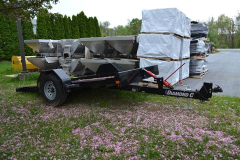 2020 Diamond C 12x77 DSA Equipment Trailer 7K in Harrisburg, Pennsylvania - Photo 12