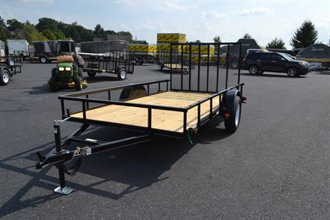 2021 Carry-On Trailers 7x12 Utility Trailer 3K in Harrisburg, Pennsylvania - Photo 1