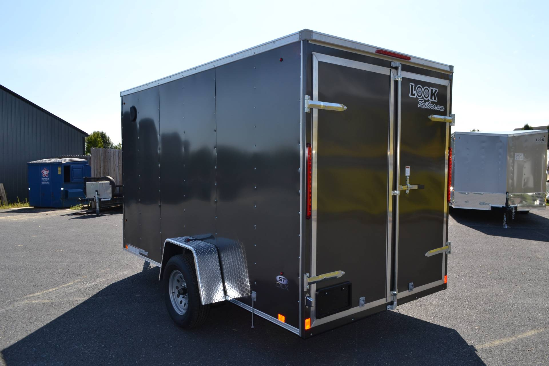 2021 Look Trailers 6X12 STDLX Cargo Trailer Double Door +6 in Harrisburg, Pennsylvania - Photo 6