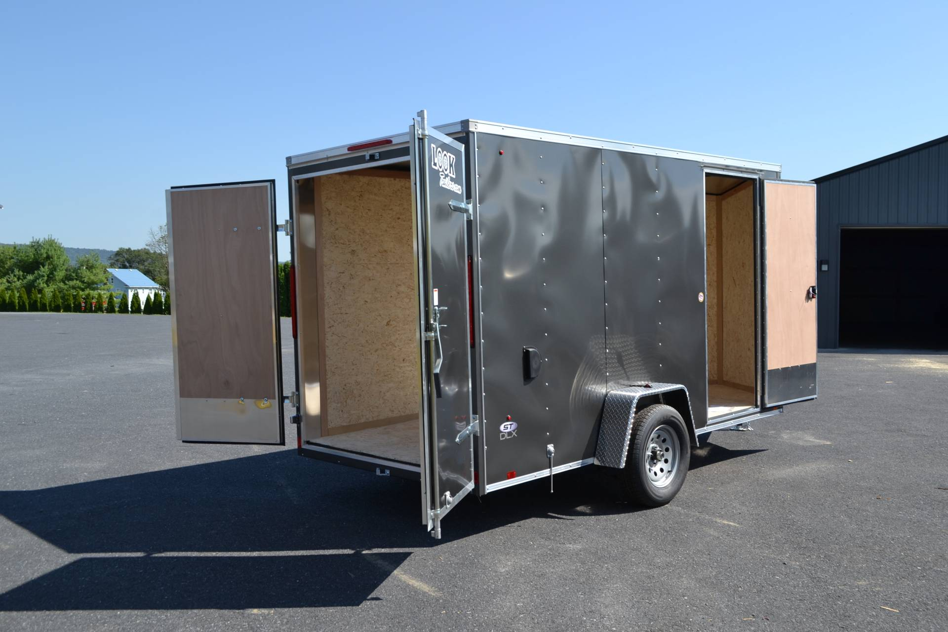 2021 Look Trailers 6X12 STDLX Cargo Trailer Double Door +6 in Harrisburg, Pennsylvania - Photo 9