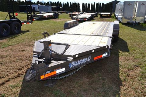 2019 Diamond C 20X82 48HDT Equipment Trailer BW in Harrisburg, Pennsylvania