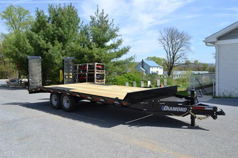 2021 Diamond C 20x102 DEC Equipment Trailer XWR in Harrisburg, Pennsylvania - Photo 1