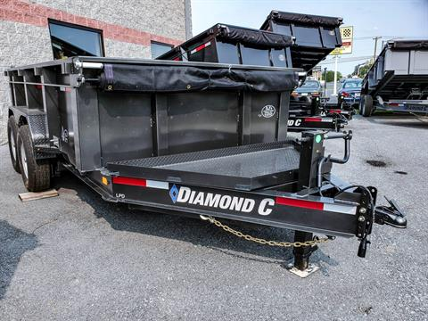 2021 Diamond C 12X82 LPD Dump Trailer 32HS HDV in Harrisburg, Pennsylvania - Photo 1