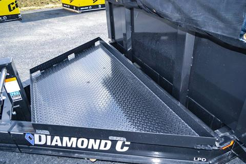 2021 Diamond C 12X82 LPD Dump Trailer 32HS HDV in Harrisburg, Pennsylvania - Photo 7