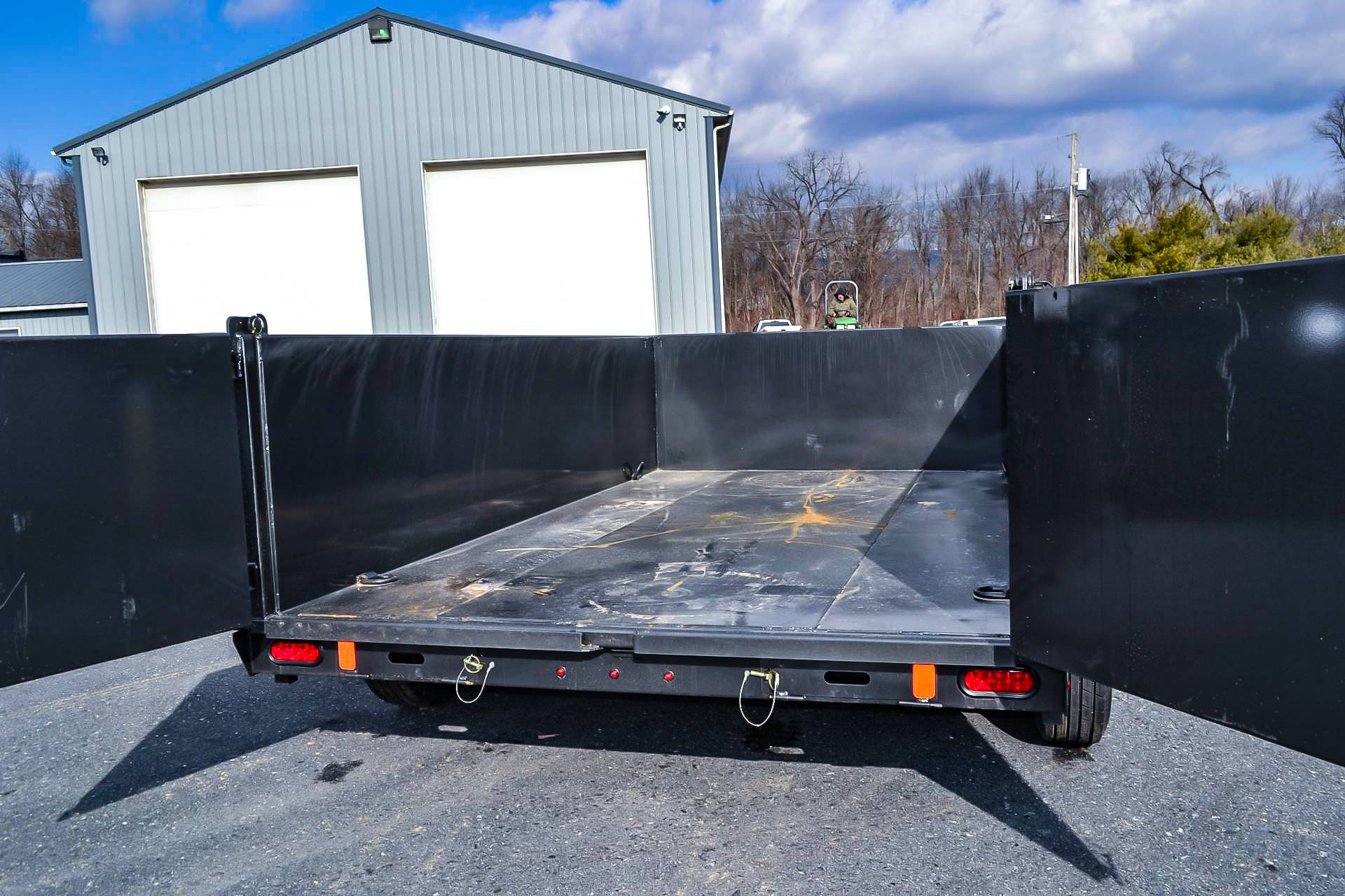 2021 Diamond C 12X82 LPD Dump Trailer 32HS HDV in Harrisburg, Pennsylvania - Photo 13