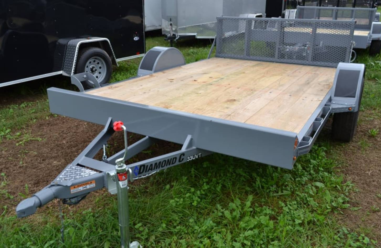 2019 Diamond C 10X77 33UVT ATV Utility Trailer in Harrisburg, Pennsylvania - Photo 1