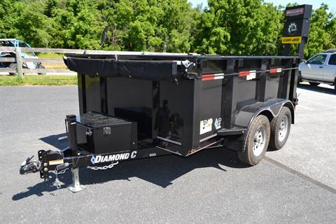 2019 Diamond C 10X77 EDG Dump Trailer - 32HS in Harrisburg, Pennsylvania - Photo 1