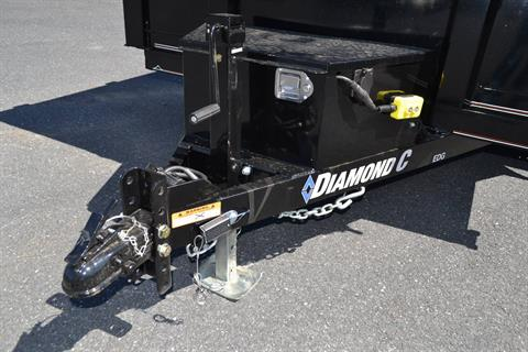 2019 Diamond C 10X77 EDG Dump Trailer - 32HS in Harrisburg, Pennsylvania - Photo 2