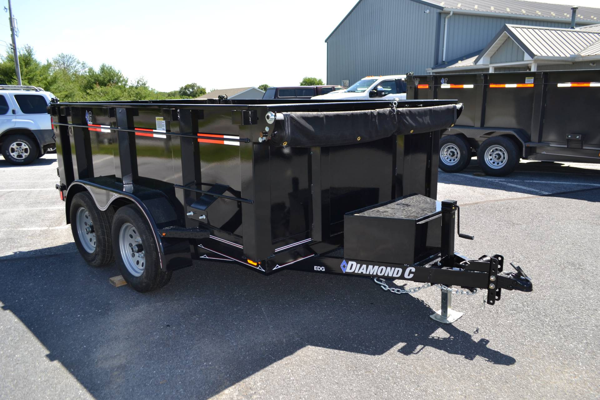 2019 Diamond C 10X77 EDG Dump Trailer - 32HS in Harrisburg, Pennsylvania - Photo 5