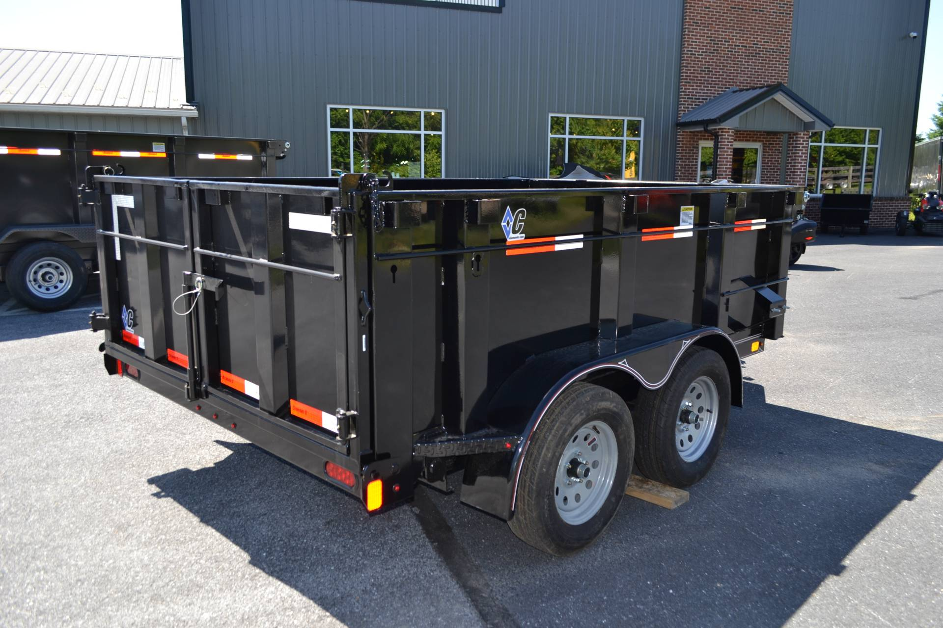 2019 Diamond C 10X77 EDG Dump Trailer - 32HS in Harrisburg, Pennsylvania - Photo 7