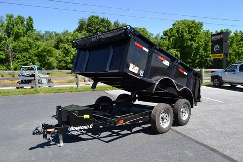 2019 Diamond C 10X77 EDG Dump Trailer - 32HS in Harrisburg, Pennsylvania - Photo 12