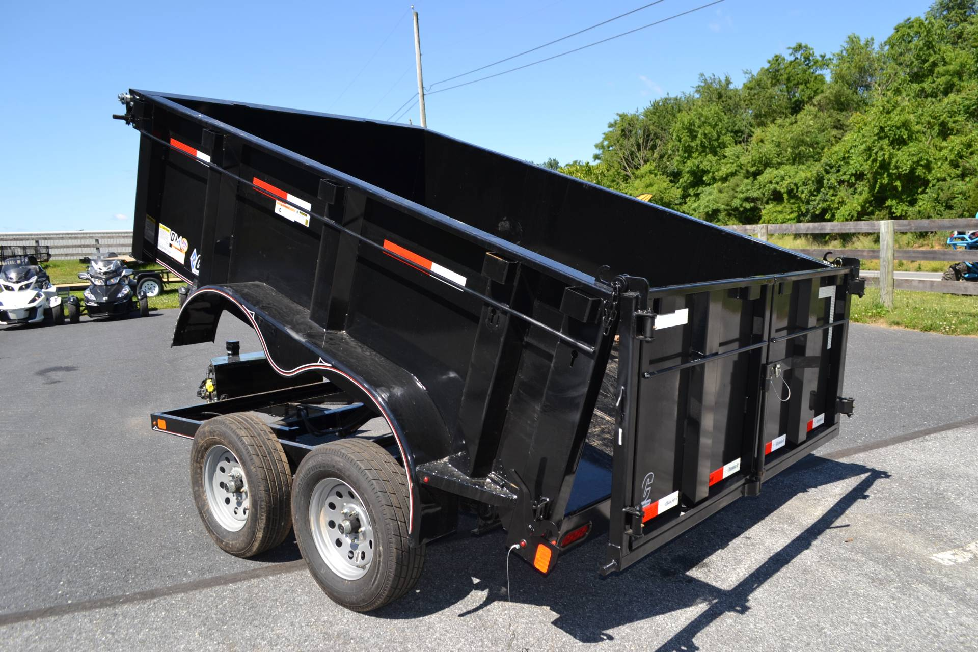 2019 Diamond C 10X77 EDG Dump Trailer - 32HS in Harrisburg, Pennsylvania - Photo 14