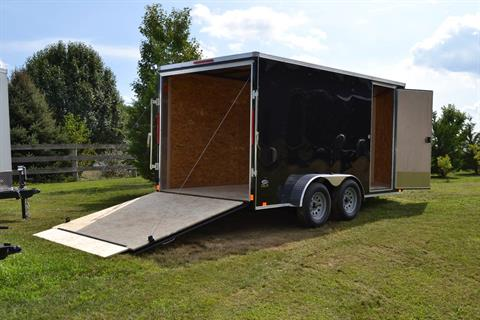 2021 Look Trailers 7X14 STDLX Cargo Trailer Ramp +6 in Harrisburg, Pennsylvania - Photo 10