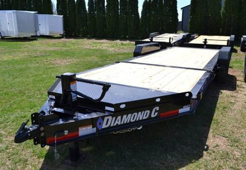 2019 Diamond C 22X82 48HDT Equipment Trailer BW in Harrisburg, Pennsylvania