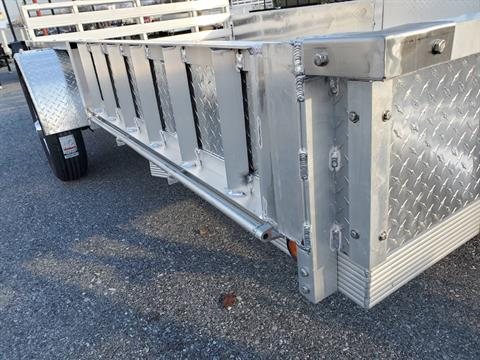 2022 Primo 82x12 Single Axle ATV Side Load ATV Ramps SS in Harrisburg, Pennsylvania - Photo 4