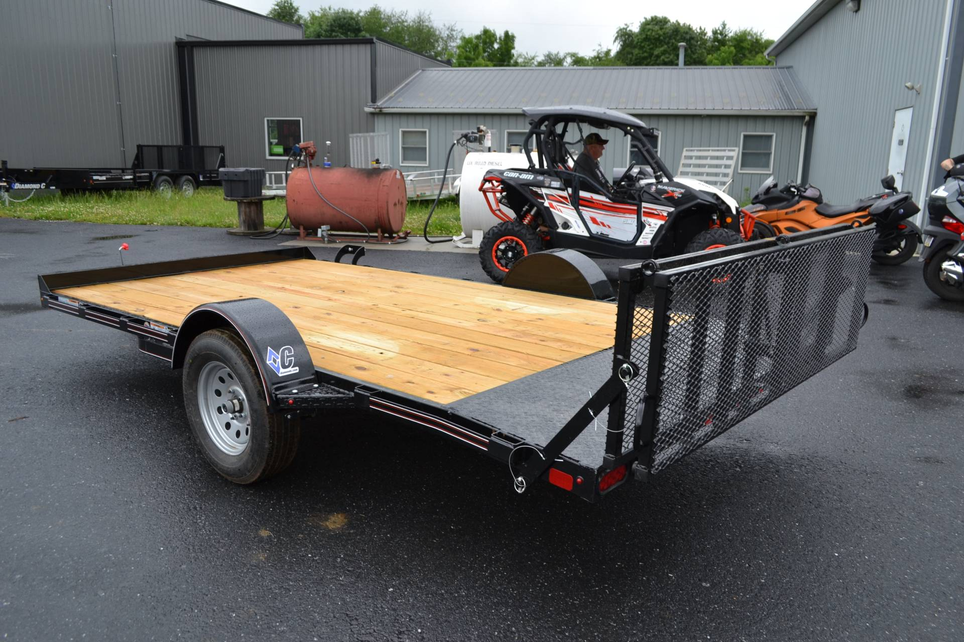 2019 Diamond C 14X83 UVT ATV Trailer 3K in Harrisburg, Pennsylvania - Photo 7