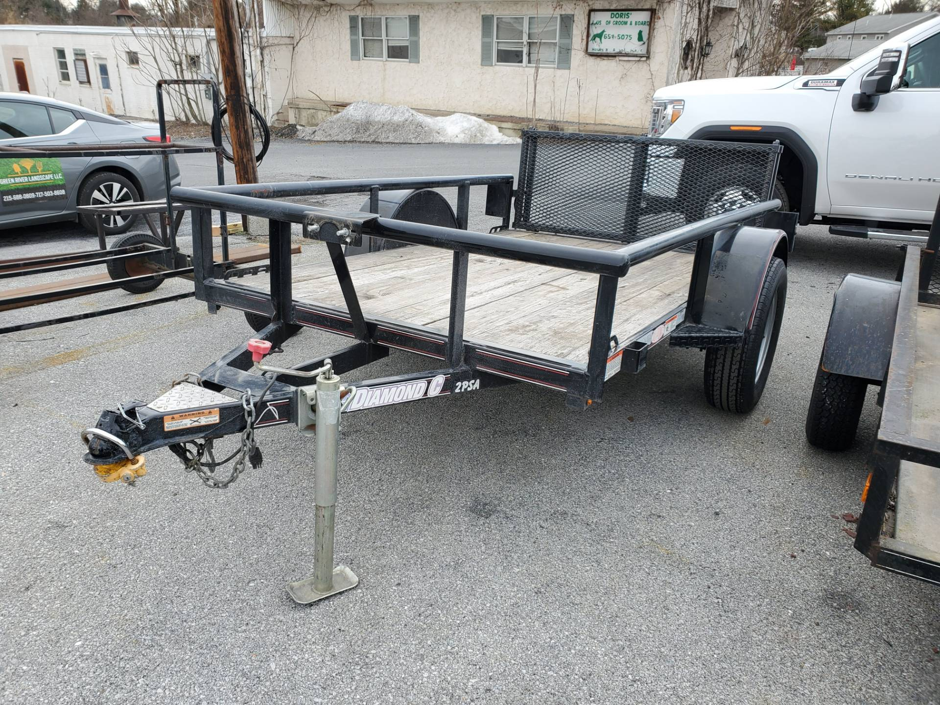 2014 USED UNITS Diamond C 5X8 PSA Utility Trailer in Harrisburg, Pennsylvania - Photo 2