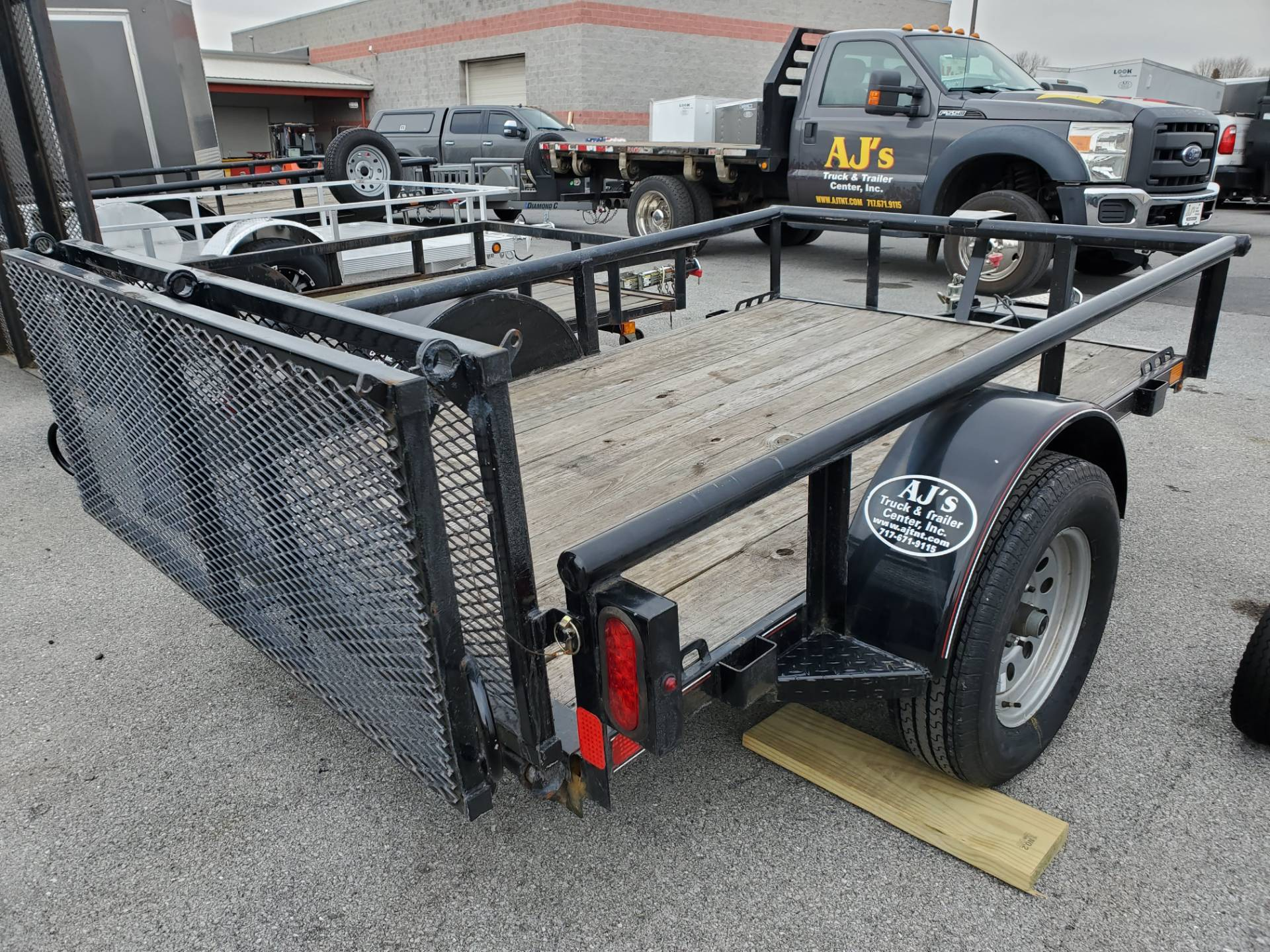 2014 USED UNITS Diamond C 5X8 PSA Utility Trailer in Harrisburg, Pennsylvania - Photo 6