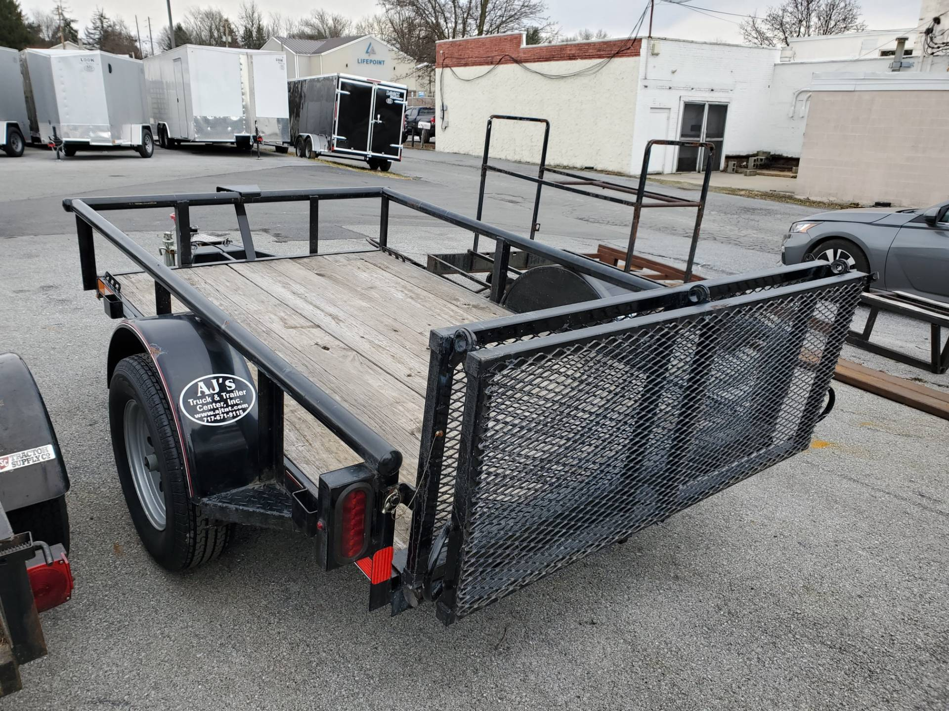 2014 USED UNITS Diamond C 5X8 PSA Utility Trailer in Harrisburg, Pennsylvania - Photo 8