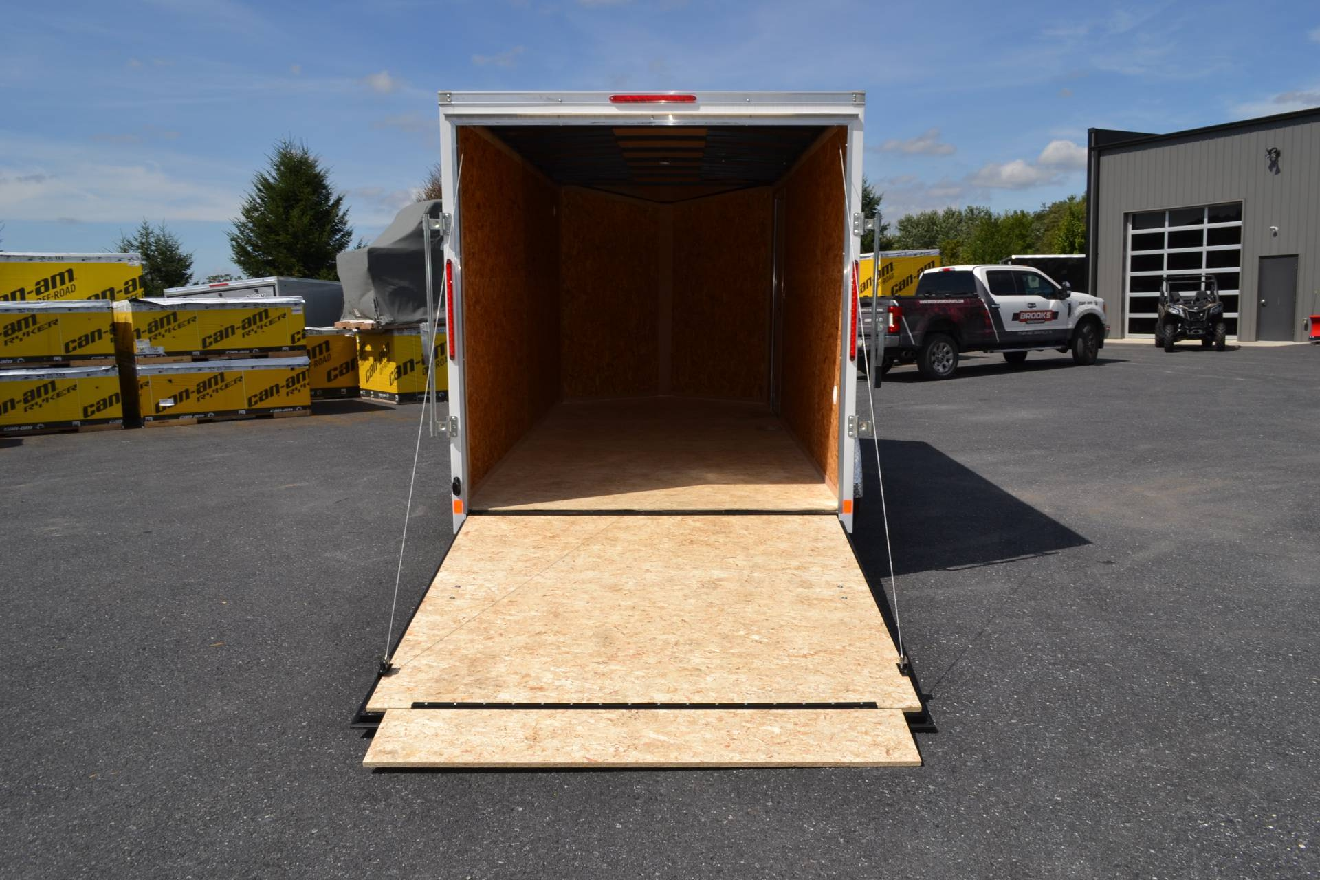 2021 Look Trailers 7X12 STDLX Cargo Trailer Ramp +12 in Harrisburg, Pennsylvania - Photo 2