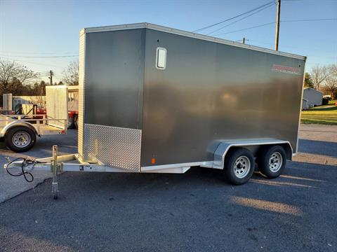 2016 USED UNITS Used Worthington 7x12 Aluminum Cargo Trailer in Harrisburg, Pennsylvania - Photo 1