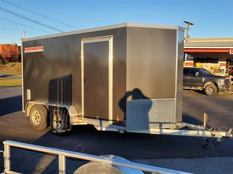 2016 USED UNITS Used Worthington 7x12 Aluminum Cargo Trailer in Harrisburg, Pennsylvania - Photo 3