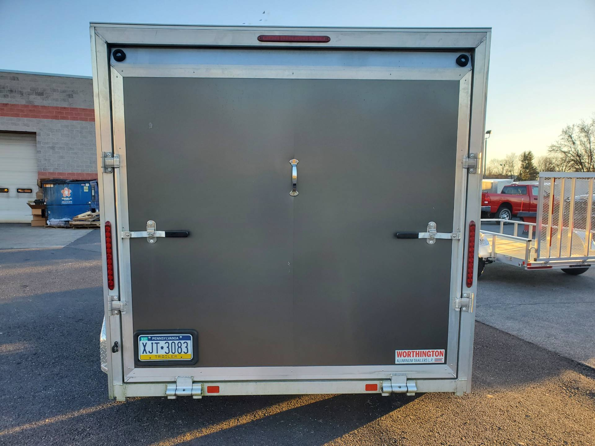 2016 USED UNITS Used Worthington 7x12 Aluminum Cargo Trailer in Harrisburg, Pennsylvania - Photo 7
