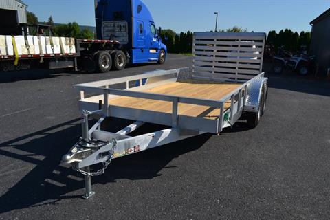 2021 Carry-On Trailers 6x16 AGW Aluminum Utility Trailer 7K in Harrisburg, Pennsylvania - Photo 1