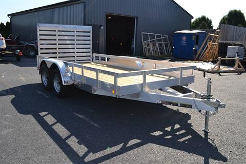 2021 Carry-On Trailers 6x16 AGW Aluminum Utility Trailer 7K in Harrisburg, Pennsylvania - Photo 3