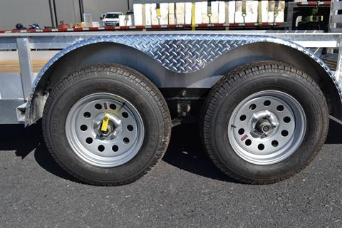 2021 Carry-On Trailers 6x16 AGW Aluminum Utility Trailer 7K in Harrisburg, Pennsylvania - Photo 5