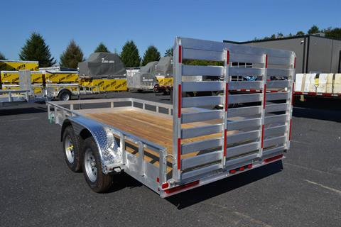 2021 Carry-On Trailers 6x16 AGW Aluminum Utility Trailer 7K in Harrisburg, Pennsylvania - Photo 7