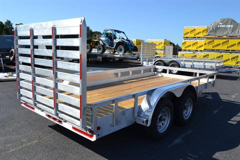 2021 Carry-On Trailers 6x16 AGW Aluminum Utility Trailer 7K in Harrisburg, Pennsylvania - Photo 8