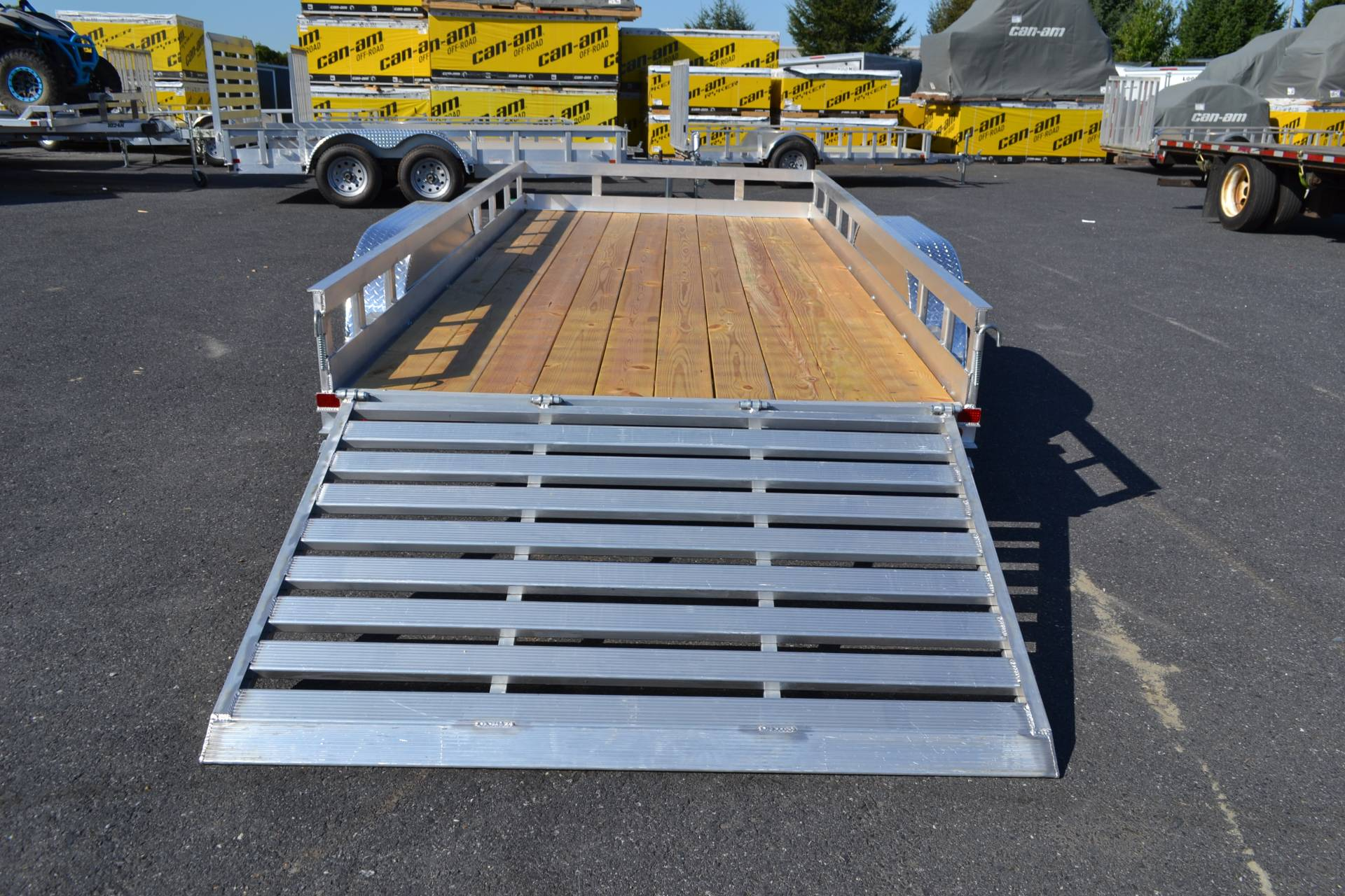 2021 Carry-On Trailers 6x16 AGW Aluminum Utility Trailer 7K in Harrisburg, Pennsylvania - Photo 11