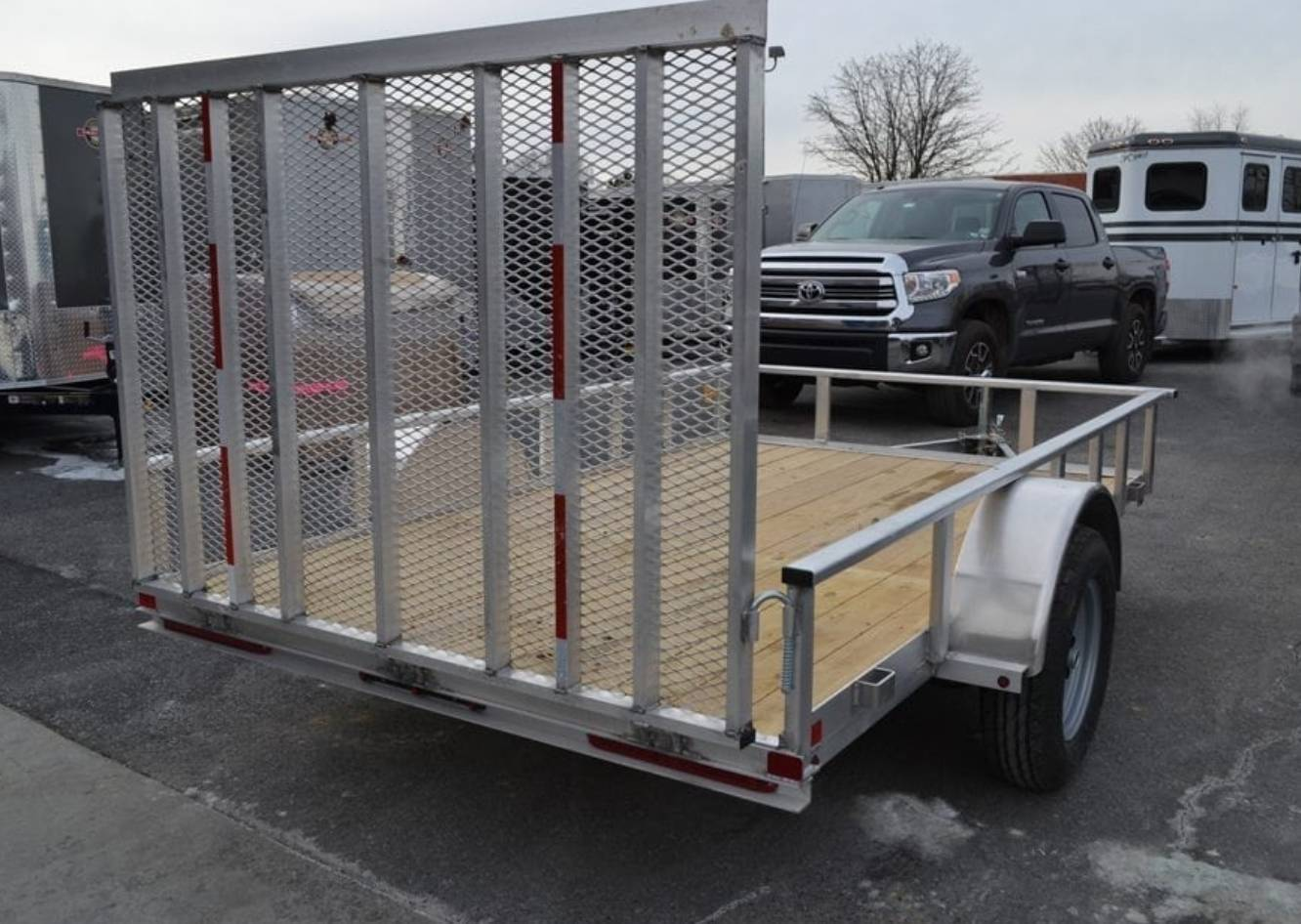 2021 Carry-On Trailers 6x10 AGW Aluminum Utility Trailer in Harrisburg, Pennsylvania - Photo 2