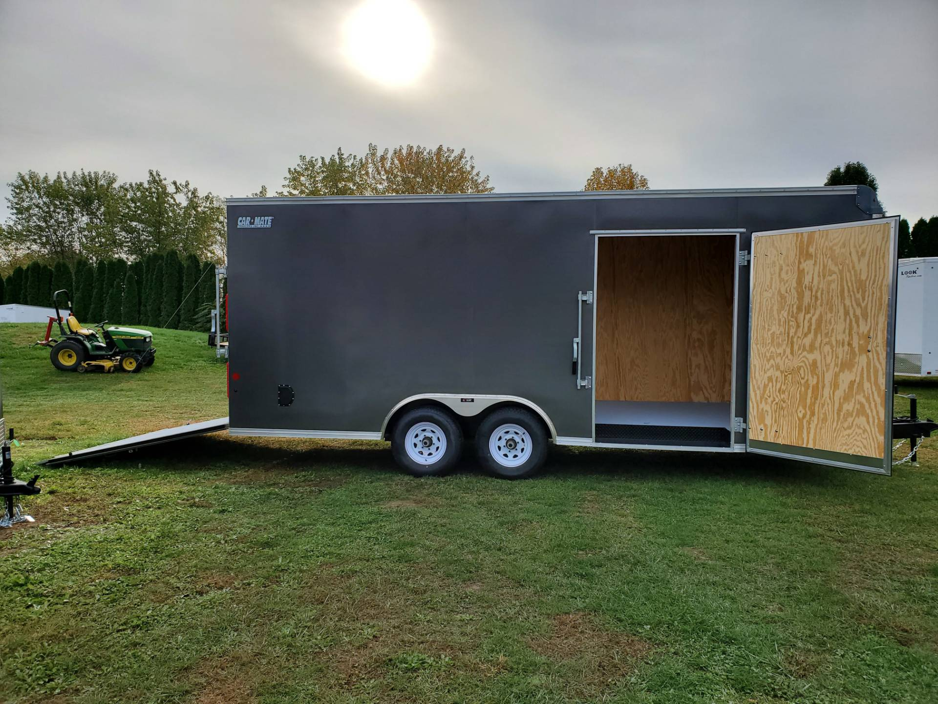 2020 Car Mate Trailers 8X20 Custom Car Hauler 10K+6 in Harrisburg, Pennsylvania - Photo 11