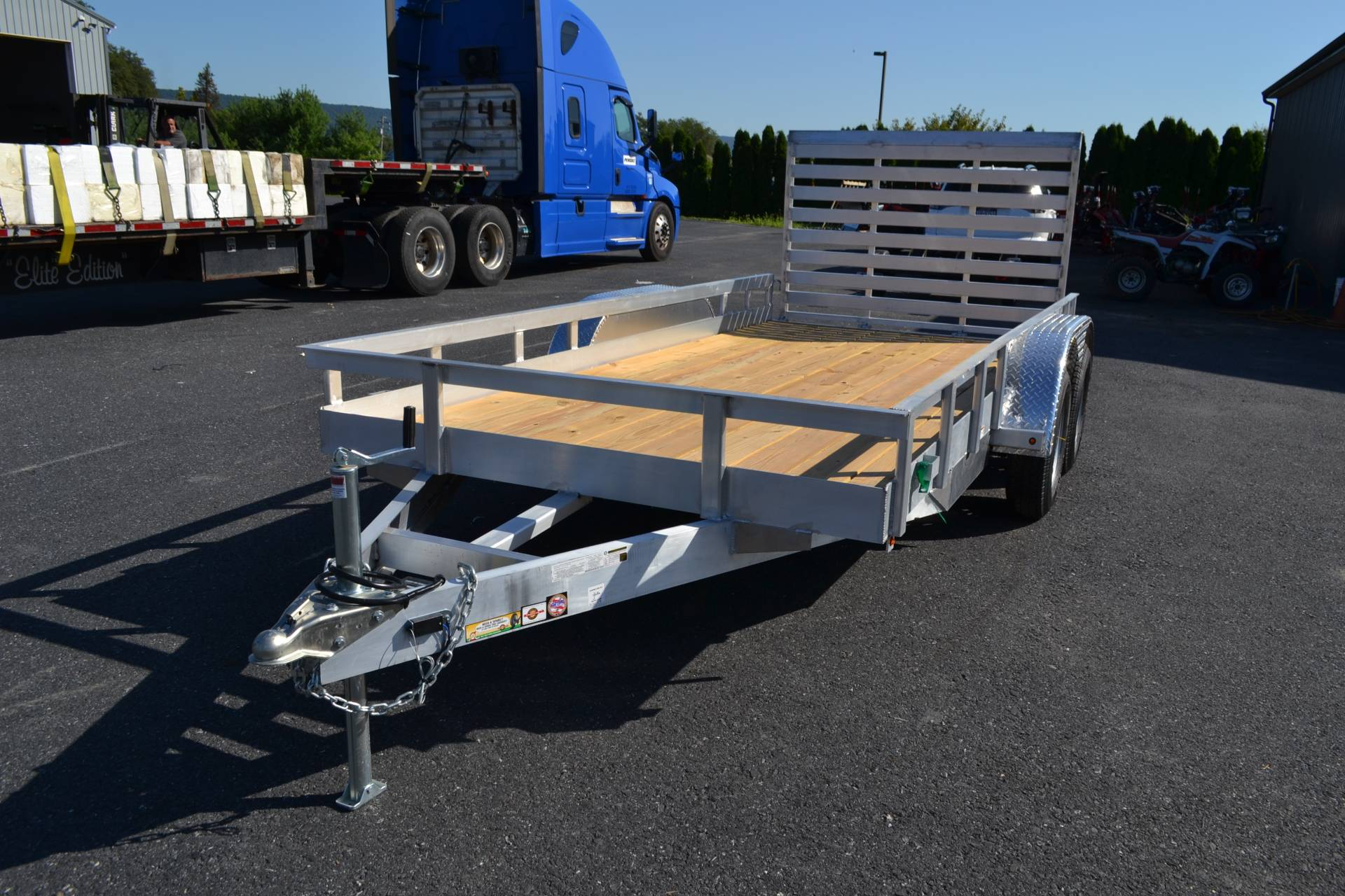 2020 Carry-On Trailers 6x14 AGW Aluminum Utility Trailer 7K in Harrisburg, Pennsylvania - Photo 1
