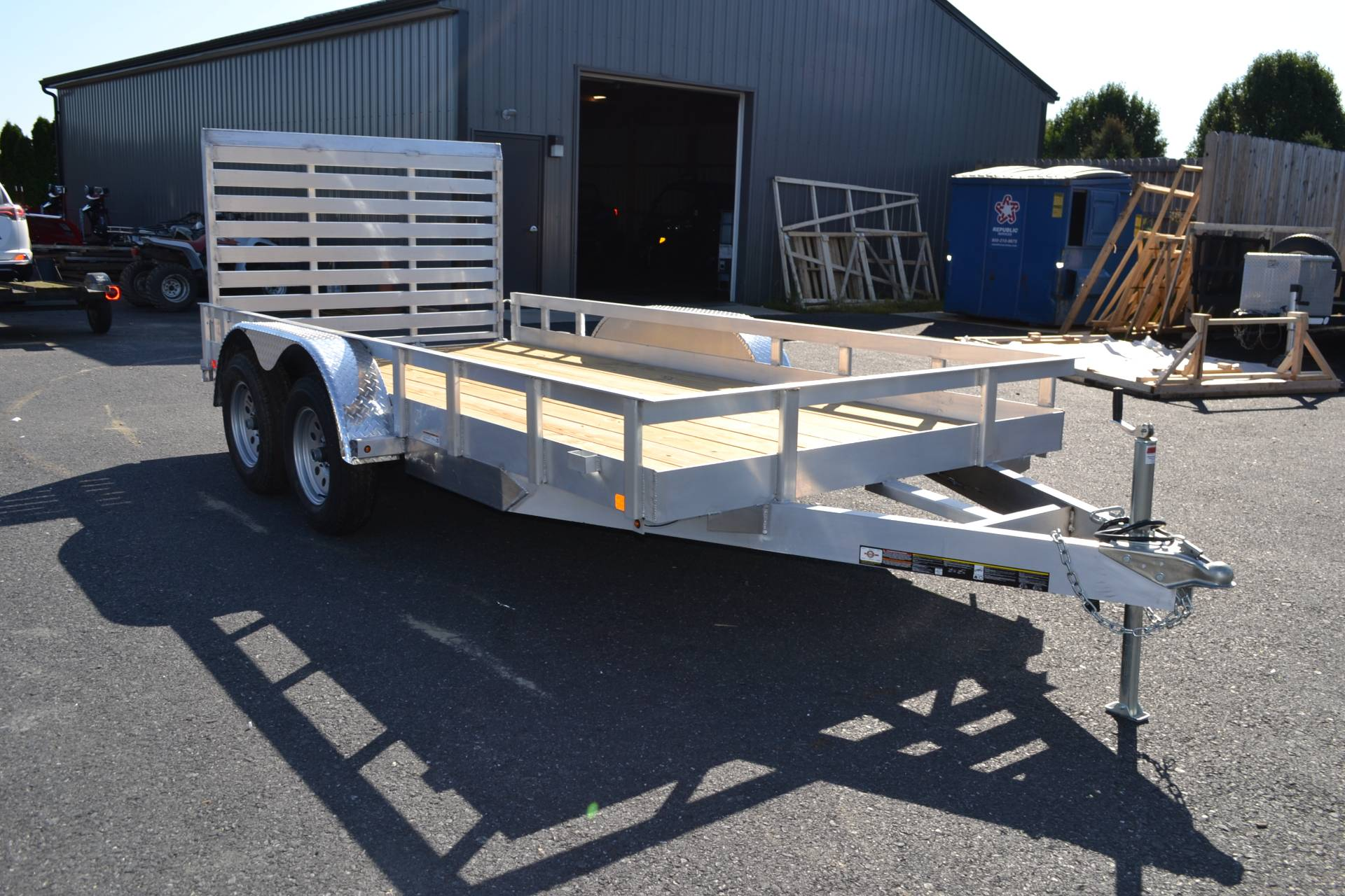 2020 Carry-On Trailers 6x14 AGW Aluminum Utility Trailer 7K in Harrisburg, Pennsylvania - Photo 3