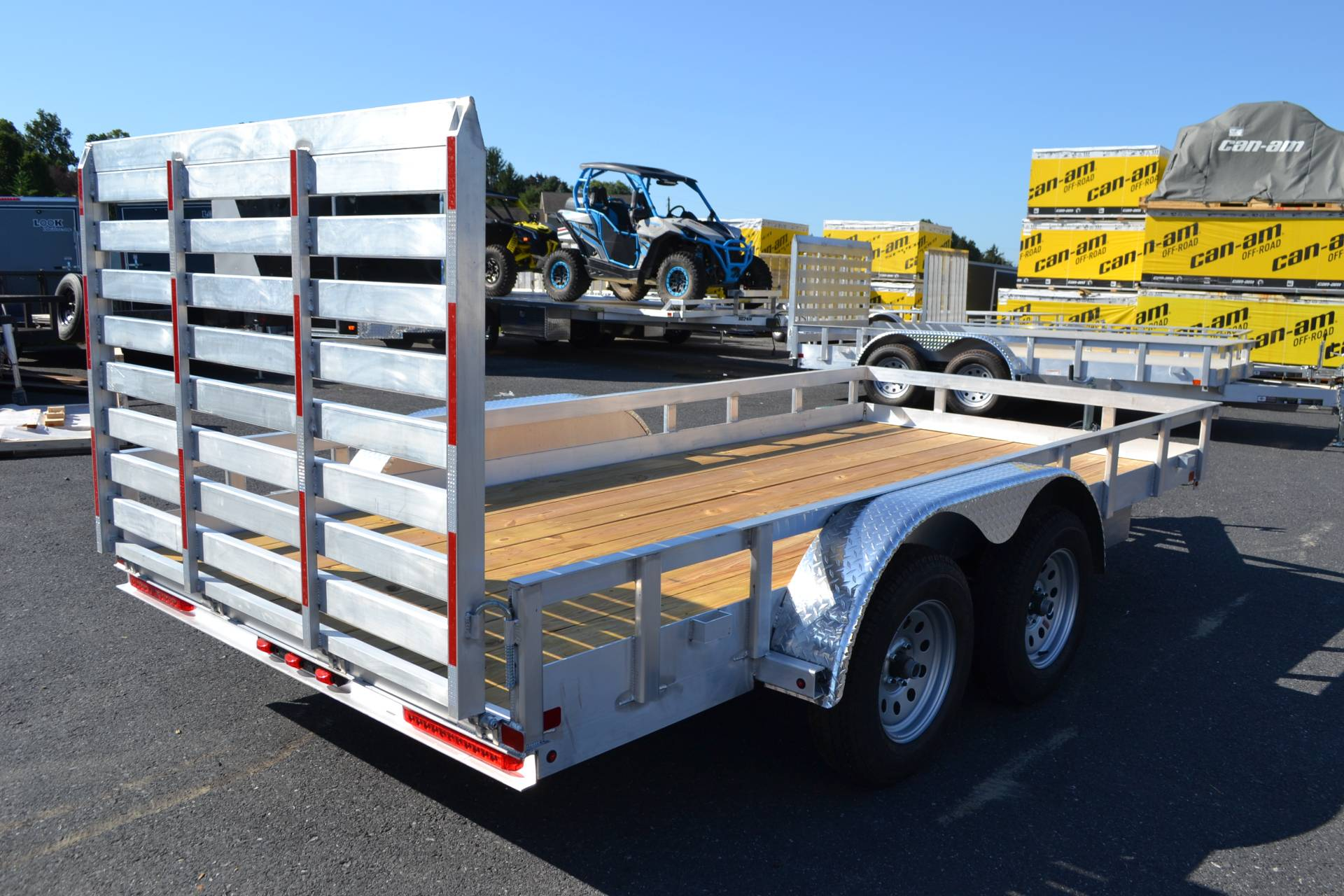 2020 Carry-On Trailers 6x14 AGW Aluminum Utility Trailer 7K in Harrisburg, Pennsylvania - Photo 8