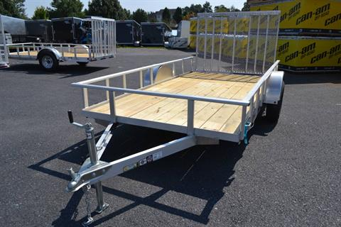 2020 Carry-On Trailers 6x12 AGW Aluminum Utility Trailer in Harrisburg, Pennsylvania