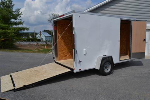 2021 Look Trailers 6X12 STDLX Cargo Trailer Ramp +6 in Harrisburg, Pennsylvania - Photo 4