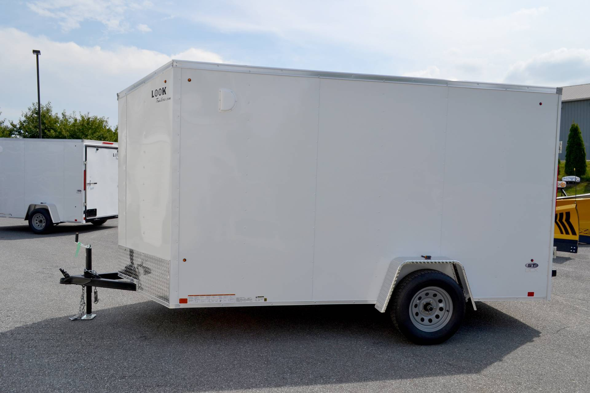 2021 Look Trailers 6X12 STDLX Cargo Trailer Ramp +6 in Harrisburg, Pennsylvania - Photo 10