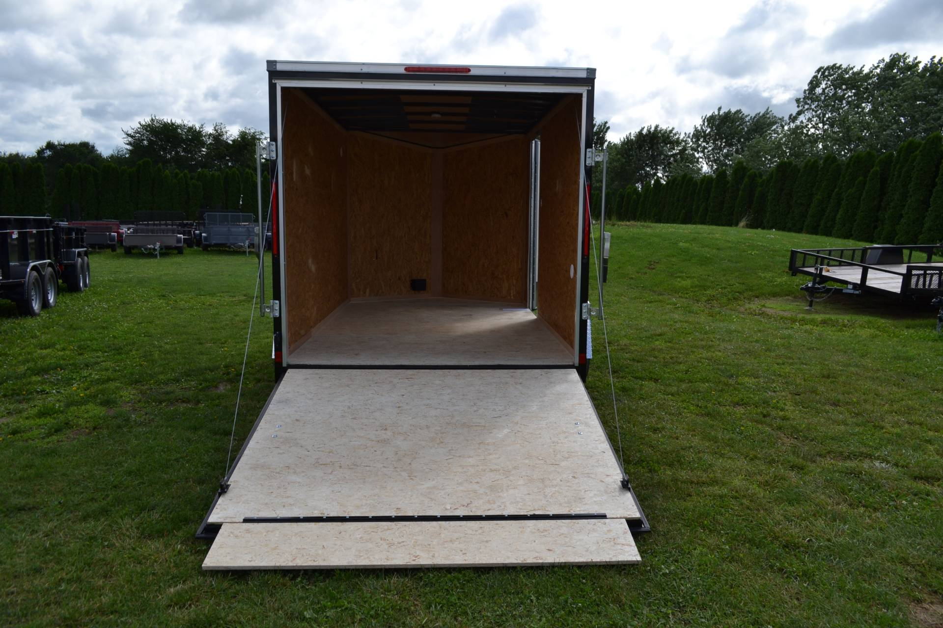 2020 Look Trailers 7X12 STDLX Cargo Trailer Ramp +6 in Harrisburg, Pennsylvania - Photo 8