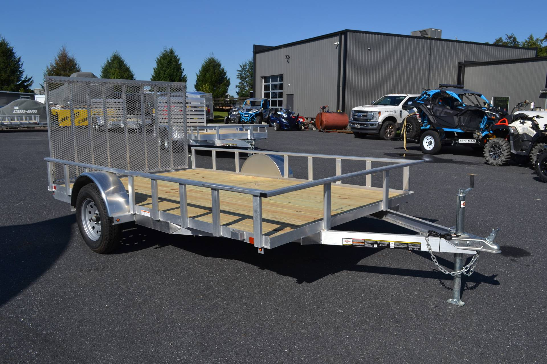 2020 Carry-On Trailers 7x12 AGW Aluminum Utility Trailer in Harrisburg, Pennsylvania - Photo 10
