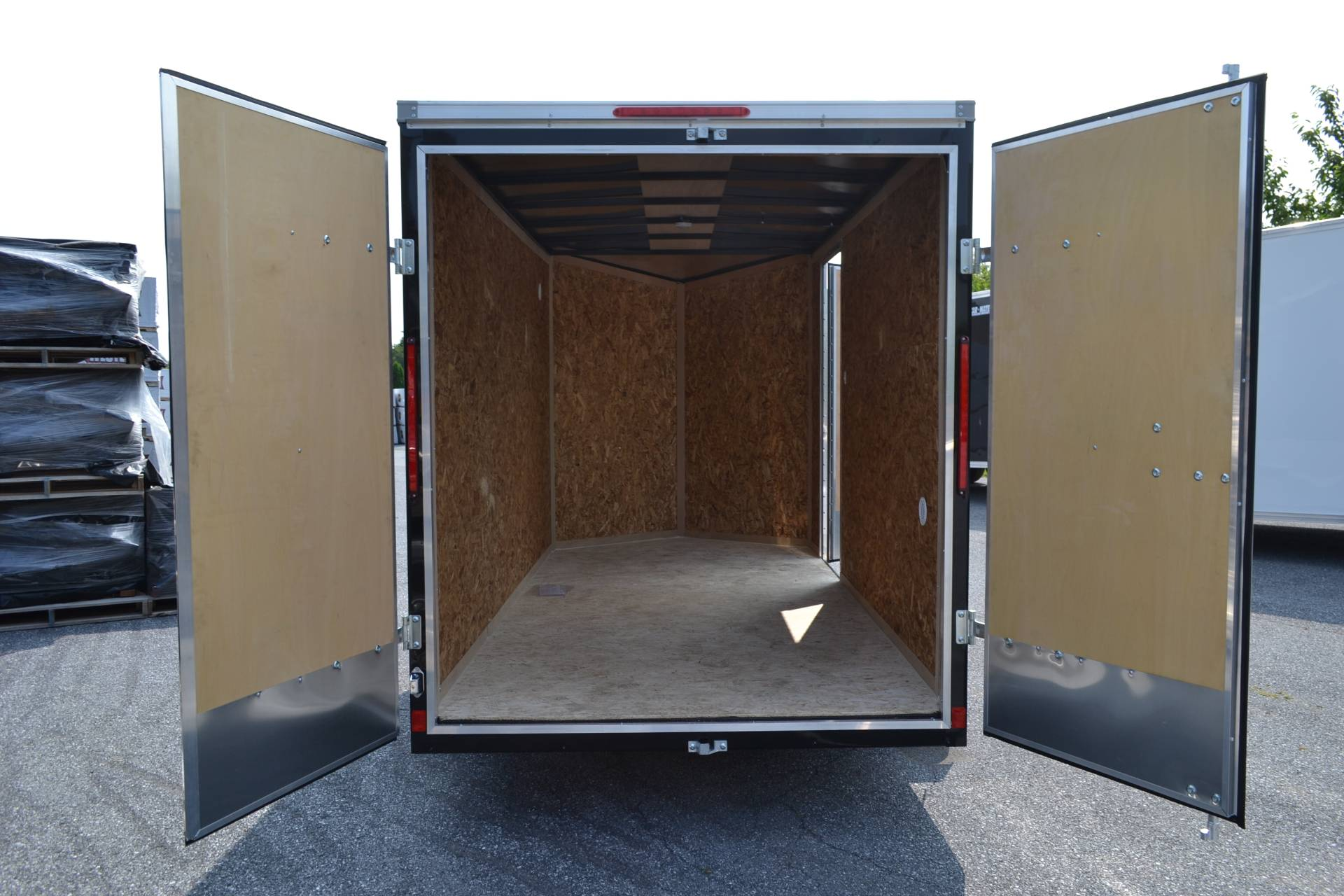 2020 Look Trailers 6X12 STDLX Cargo Trailer Double Door +6 in Harrisburg, Pennsylvania - Photo 3
