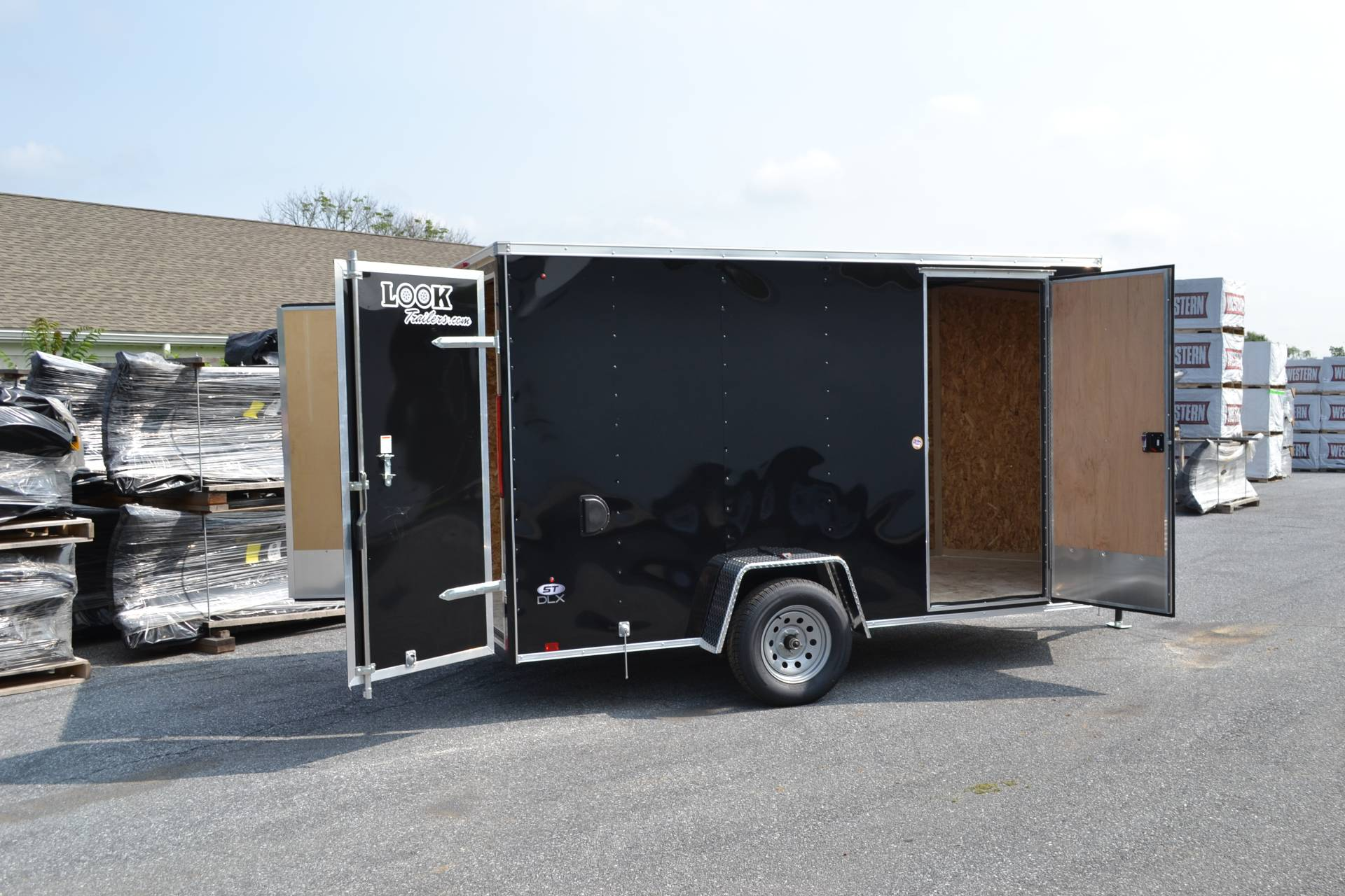 2020 Look Trailers 6X12 STDLX Cargo Trailer Double Door +6 in Harrisburg, Pennsylvania - Photo 4
