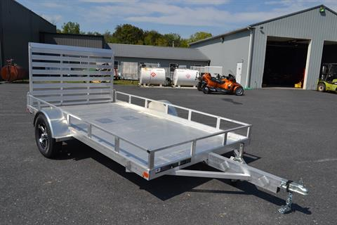 2020 Carry-On Trailers 6.5x12 AGA Aluminum Utility Trailer 3K in Harrisburg, Pennsylvania - Photo 3
