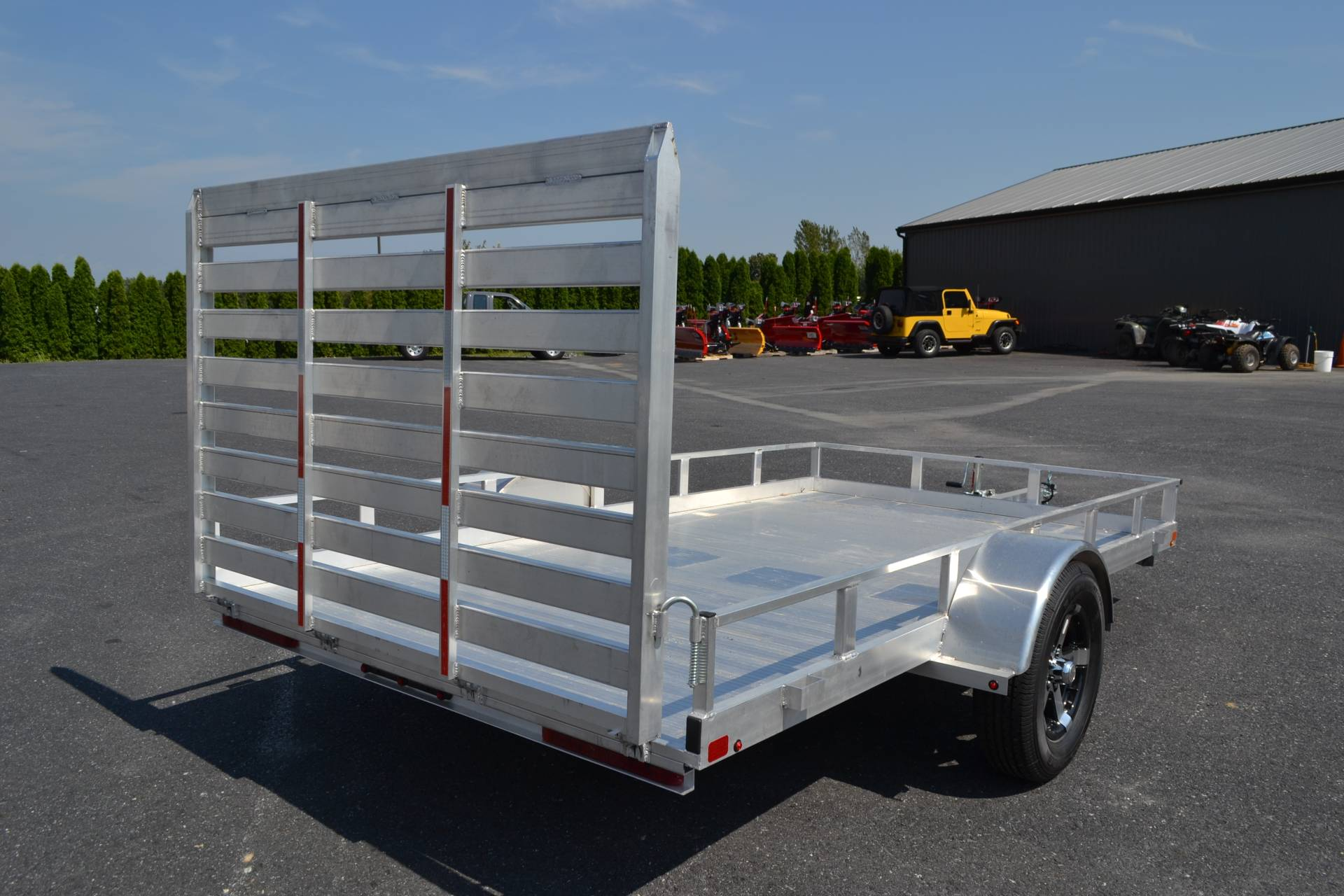 2020 Carry-On Trailers 6.5x12 AGA Aluminum Utility Trailer 3K in Harrisburg, Pennsylvania - Photo 7