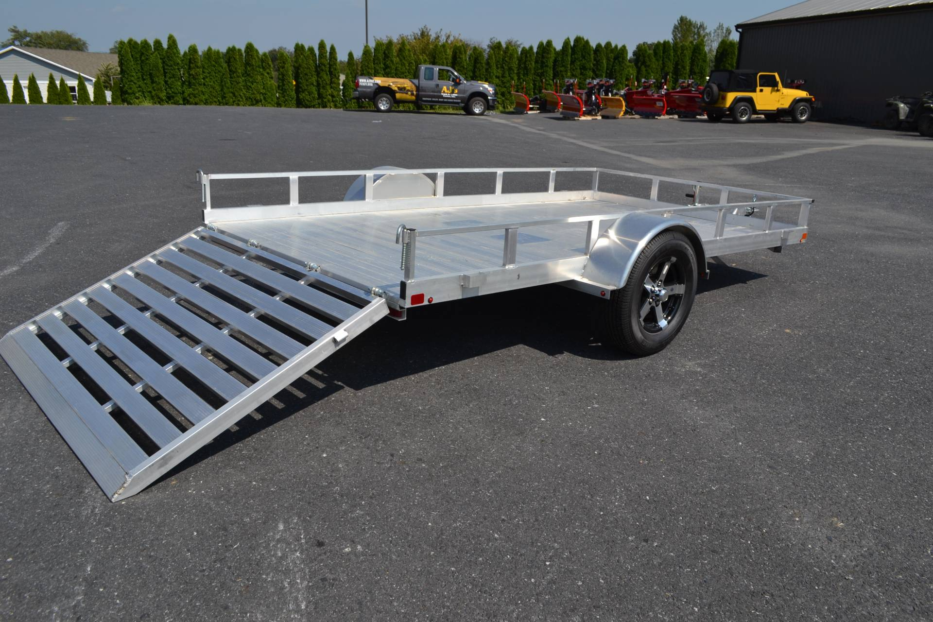 2020 Carry-On Trailers 6.5x12 AGA Aluminum Utility Trailer 3K in Harrisburg, Pennsylvania - Photo 11